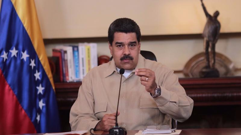 委內瑞拉總統馬杜羅。(圖:AFP)