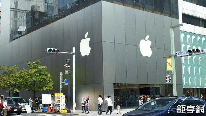 蘋果專賣店。(鉅亨網記者李宜儒攝)