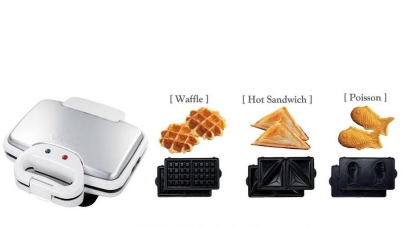 日本Vitantonio鬆餅機VWH110 。(圖:露天拍賣提供)