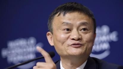 馬雲說,互聯網不應該是實體經濟的代罪羔羊。 (圖:AFP)
