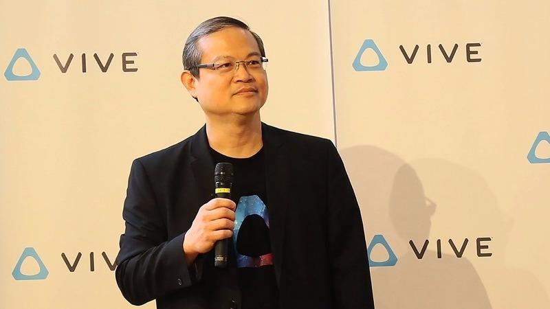 宏達電前北亞區總經理董俊良新創JPW轉戰VR。(資料照,圖:宏達電提供)