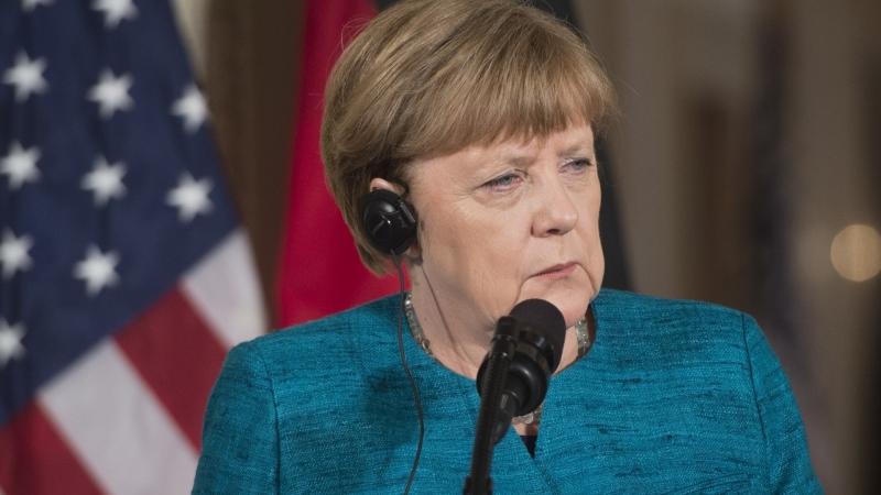 圖:AFP 德國總理梅克爾