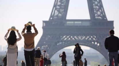 法國巴黎艾菲爾鐵塔。圖片來源:AFP