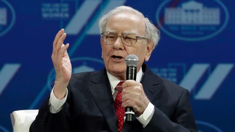 股神巴菲特 (Warren Buffett) 圖片來源:afp