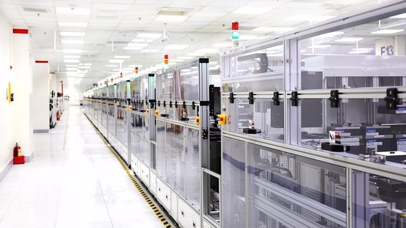 宏達電SMT良率達99.9%。(圖:宏達電提供)