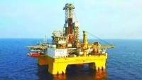 「藍鯨一號」成功在南海試採可燃冰。 (圖取材自網路)