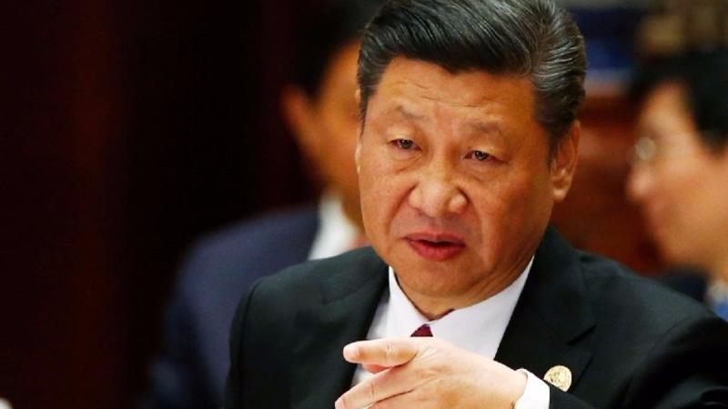 習近平「想」讓中國再次稱雄世界。(圖片來源:AFP)