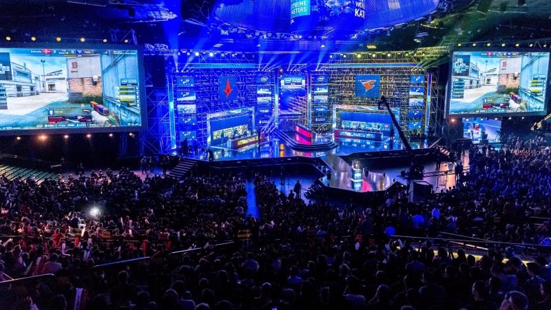 ESL 電競賽場,圖片來源:afp