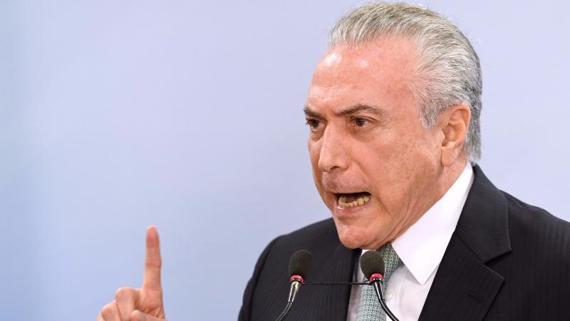 巴西總統梅特爾。(圖:AFP)