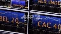 圖:AFP  歐股周五收高