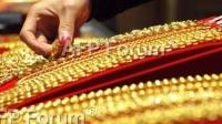 圖:AFP 黃金價格周五上漲