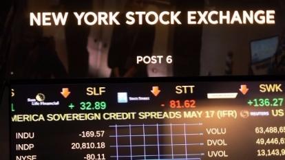 圖:AFP 美國股市再創歷史新高