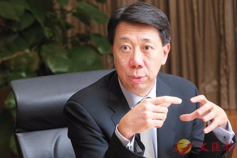 洪丕正表示,渣打與中國有關的5大趨勢的業務,年收入已達10億美元,未來將加大力度發展。 圖片來源:香港文匯報