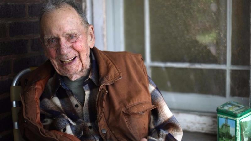 圖:AFP 98歲的葛瑞墨