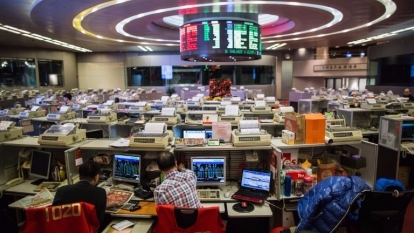 摩根士丹利大幅上調港股預測,最樂觀可見34000點。 (圖:AFP)