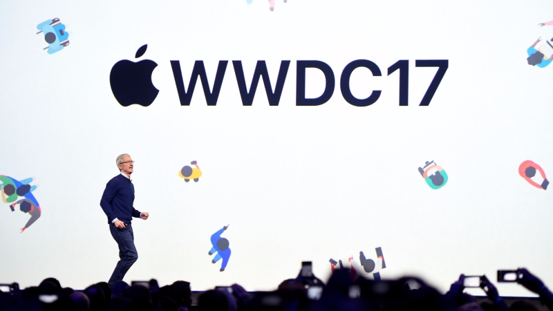 WWDC 會場 / 圖片來源:afp