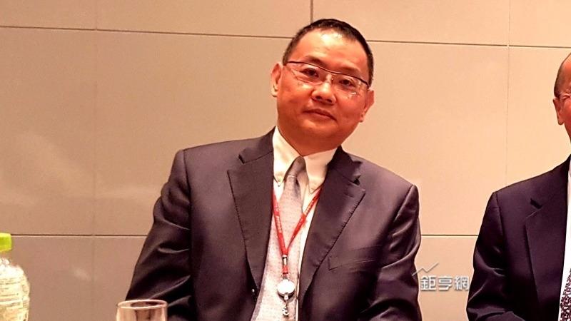 張善政任獨董華邦電董事長焦佑鈞表示非 常開心。(鉅亨網記者楊伶雯攝)