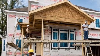 圖:AFP 美國5月新屋開工下降5.5%