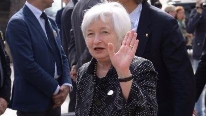 (圖一:這是葉倫阿姨的鷹爪?可別藏刀喔!AFP)