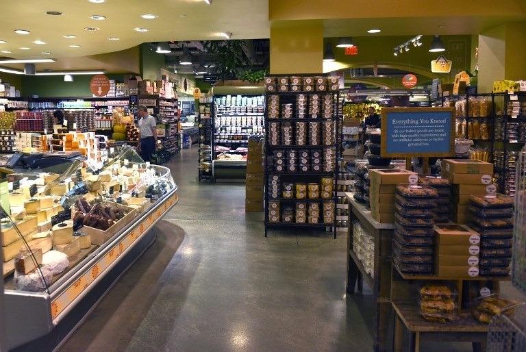 全食是間專門販售有機食品的超市