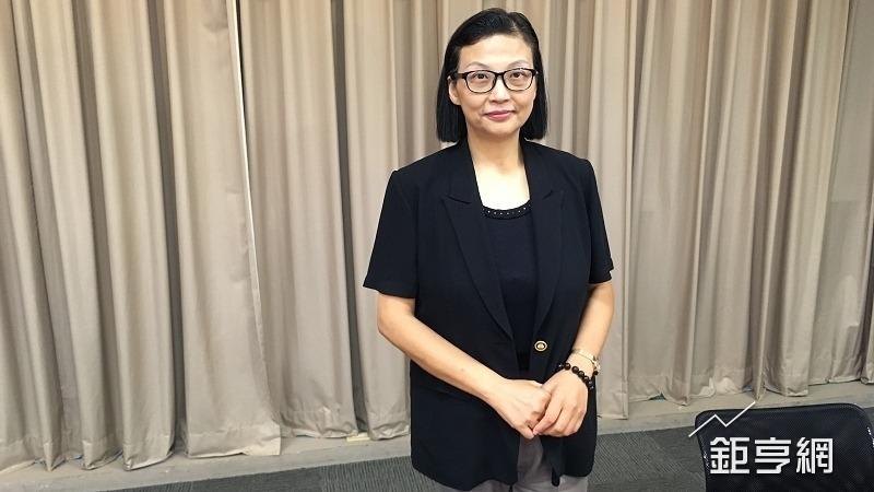 環球晶董事長徐秀蘭(鉅亨網記者蔡宗憲攝)