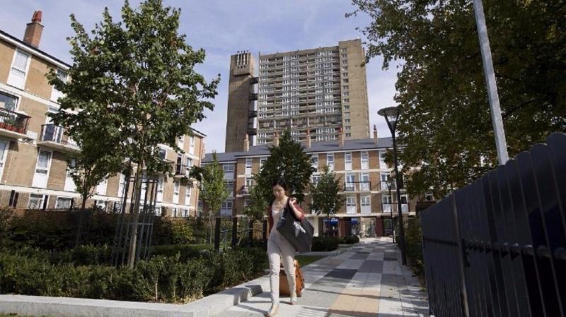 英國房市在短期內應該還會持續維持疲軟的態勢。(圖片來源:AFP)