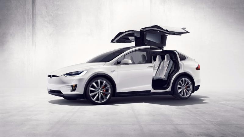 特斯拉電動運動休旅車-Model X。(圖:特斯拉提供)