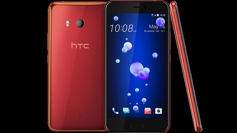 HTC U11新色豔陽紅6/20凌晨開放預購。(圖:宏達電提供)