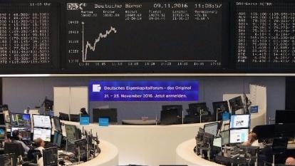 圖:AFP  歐股周一收高