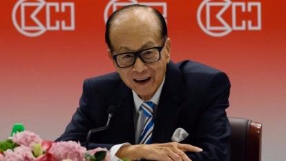 傳李嘉誠明年退休。  (圖:AFP)