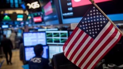 圖:AFP 美國股市周四收盤漲跌互見