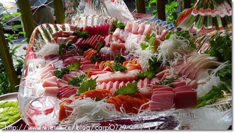 生魚片大餐樣式多到讓消費者驚呼。  (圖取材自網路)