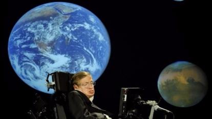 英國物理學家史蒂芬‧霍金 (圖:AFP)