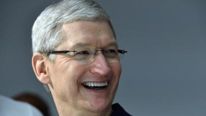 蘋果執行長庫克。(圖片來源:AFP)