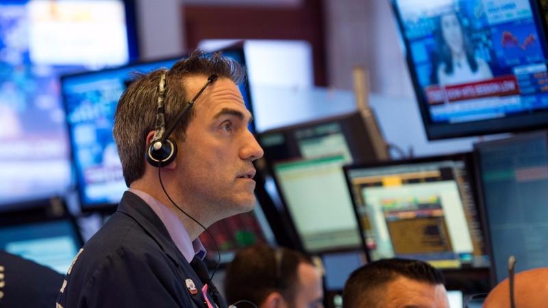 圖:AFP  美國股市週三大多收高