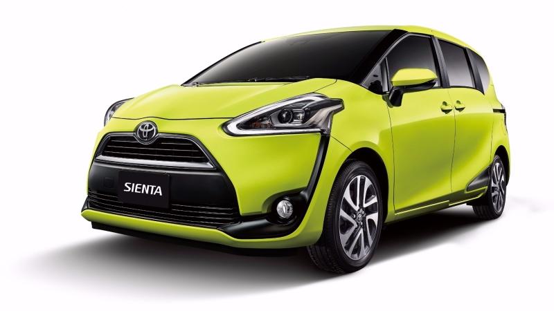 Toyota Sienta。(圖:和泰車提供)