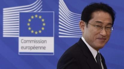岸田文雄放話要在安倍這次內閣改組中退出。  (圖:AFP)