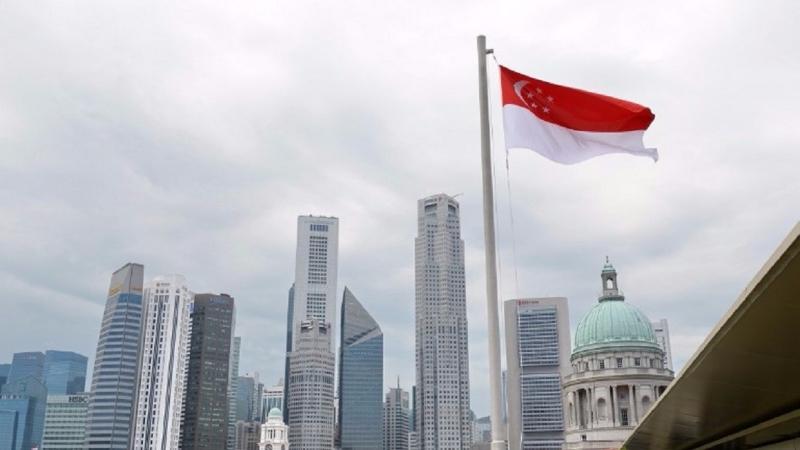 新加坡非常重視讓學生擁有適應數位經濟的能力。(圖片來源:AFP)