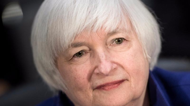 圖:AFP  葉倫說Fed無需多次升息