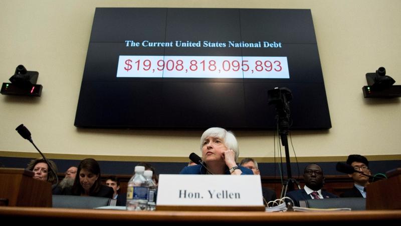 美國債務達:19.9兆美元 / 圖片來源:afp