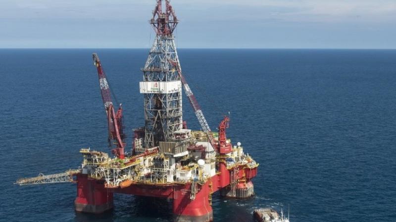 海上油井。(圖片來源:AFP)