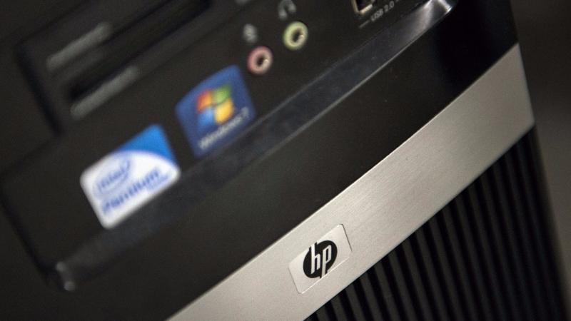 惠普重回PC的龍頭。(圖:AFP)