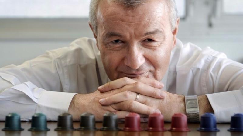 加亞爾自創道德咖啡公司,推出環保膠囊咖啡。  (圖:AFP)