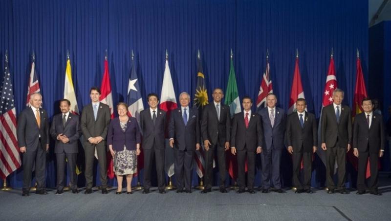 2015年11月18日,TPP 12個成員國在馬尼拉舉行峰會。 (圖:AFP)