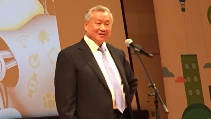 旺宏為國內半導體人才培育扎根不遺餘力。圖為旺宏董事長吳敏求。