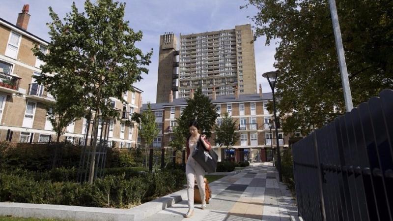 目前,英國房價實際上處於停滯狀態。(圖片來源:AFP)