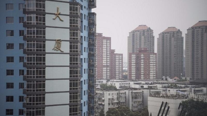 今年中國的房地產投資在截至6月份的這段期間持續下滑。(圖片來源:AFP)