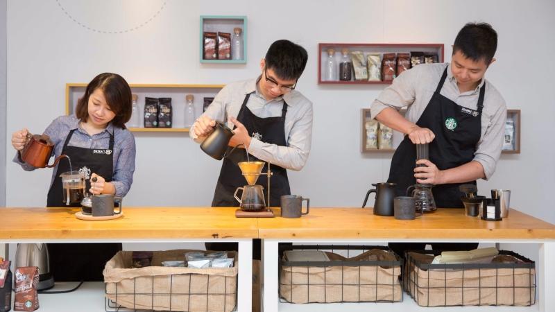 統一星巴克積極推廣「星巴克咖啡旅程Coffee Journey」。(圖:統一星巴克提供)