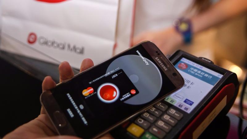 中國信託成Samsung Pay第8家合作銀行。(圖/中國信託提供)