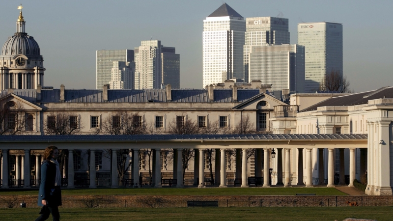 花旗銀行傳出倫敦遷至法蘭克福,作為歐洲新總部。(圖AFP)